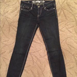Express Size 4R Skinny Jeans